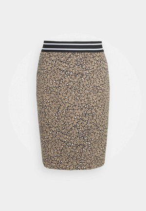 Pencil skirt - classic sand