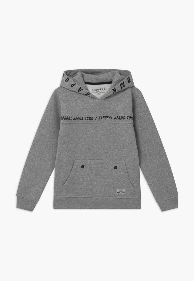 OSLO - Felpa con cappuccio - grey