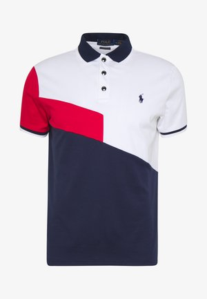 Polo shirt - white multi