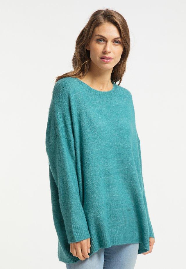 Pullover - türkis