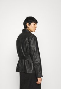 Deadwood - TYRA JACKET - Leather jacket - black - 5