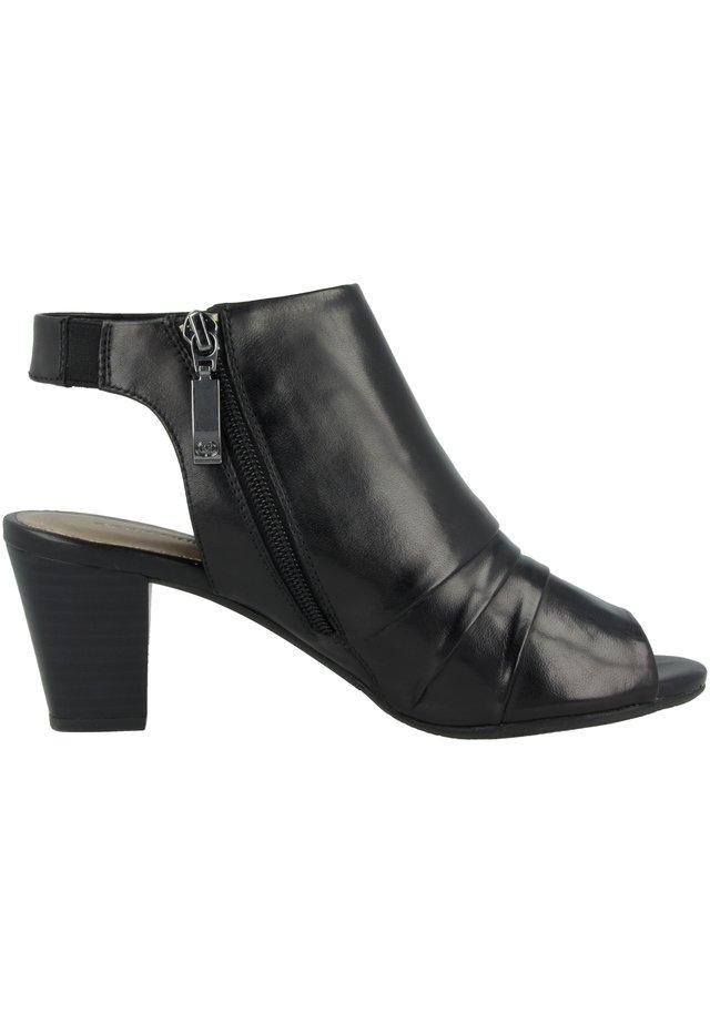 Sandalen met enkelbandjes - black (g13018-90-100)