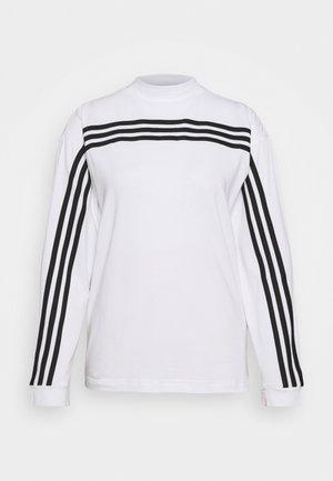 Langarmshirt - white/black