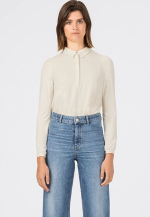 Polo shirt - creme