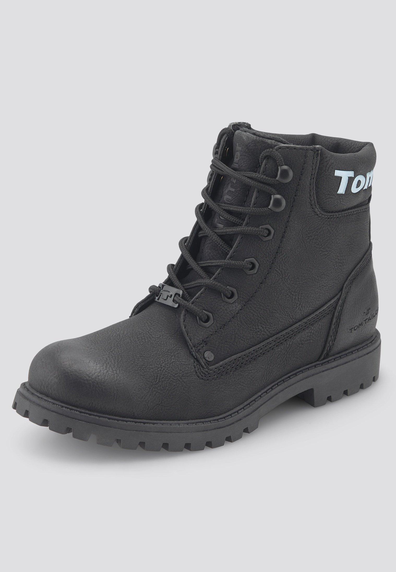 TOM TAILOR Snowboot/Winterstiefel black/schwarz