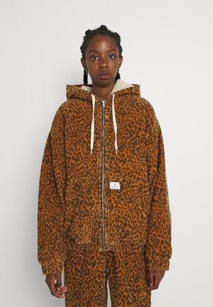 LEOPARD SKATE JACKET - Short coat - multi