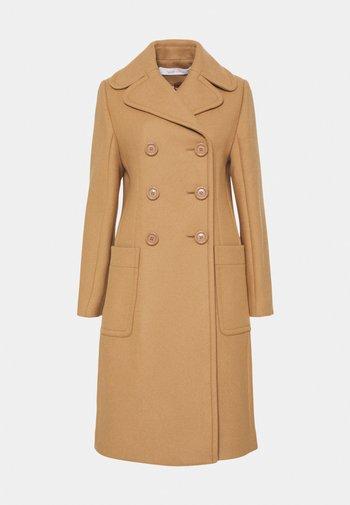 Classic coat - vegetal brown