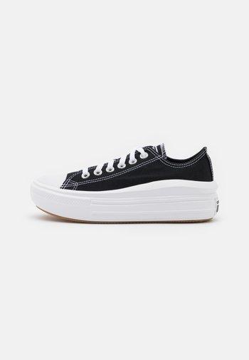 CHUCK TAYLOR MOVE PLATFORM - Sneakers basse - black/white