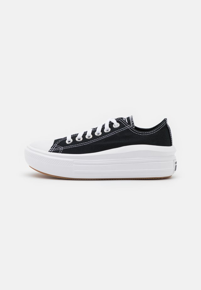 CHUCK TAYLOR MOVE PLATFORM - Sneakers basse - black/white
