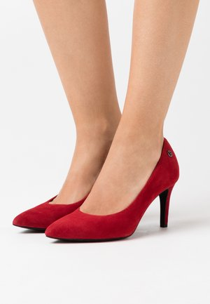 COURT SHOE - Classic heels - red