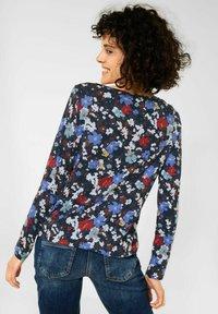 Cecil - MIT BLUMEN  - Long sleeved top - blau - 2