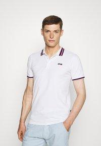 Schott - HENRY - Polo shirt - white - 0