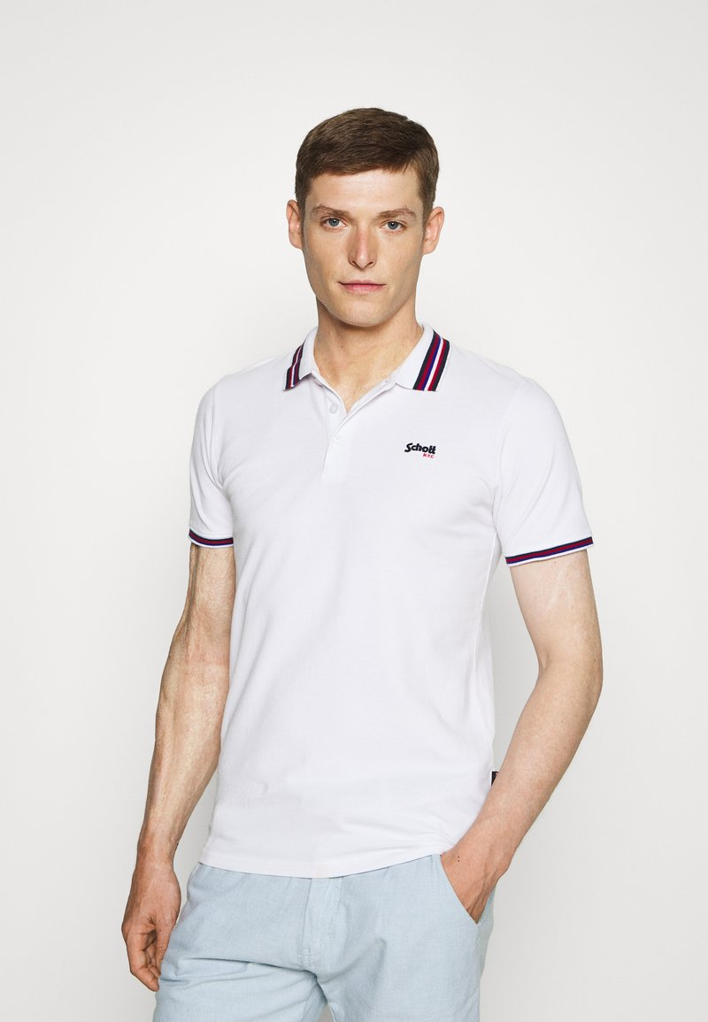 Schott - HENRY - Polo shirt - white