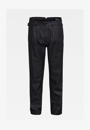 VARVE RELAXED PLEATED - Trousers - dark blue