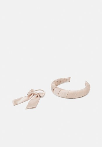 HEADBAND AND BOW SET  - Hair styling accessory - nude