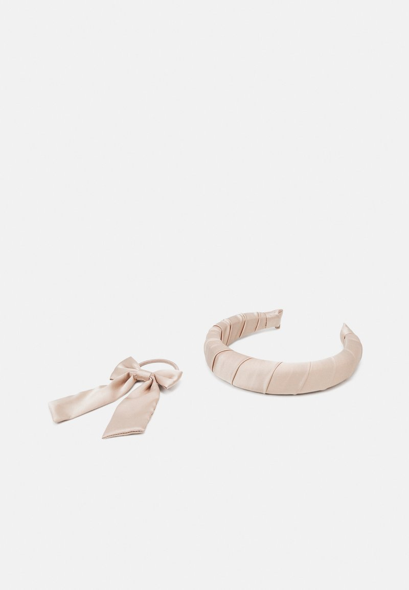 LIARS & LOVERS - HEADBAND AND BOW SET  - Hair styling accessory - nude