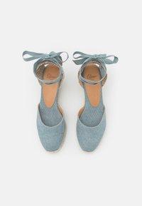 Castañer - CARINA  - Platform sandals - water blue - 5