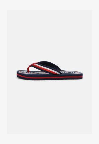 UNISEX - T-bar sandals - blue/multicolor