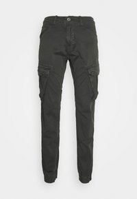 Alpha Industries - SPY PANT - Cargo trousers - greyblack - 5