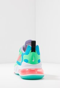 Nike Sportswear - AIR MAX 270 REACT - Trainers - electro green/flash crimson/blue lagoon/hyper jade/lavender mist/sunset pulse - 7