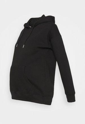 POCKET HOODIE - Jersey con capucha - black