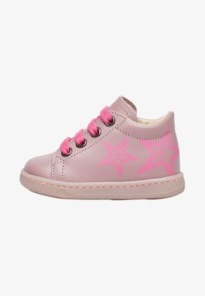 FALCOTTO AVERY MIT STERNEN-PRINT - Baby shoes - rosa