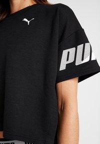 Puma - MODERN SPORT TEE - T-Shirt print - black - 6