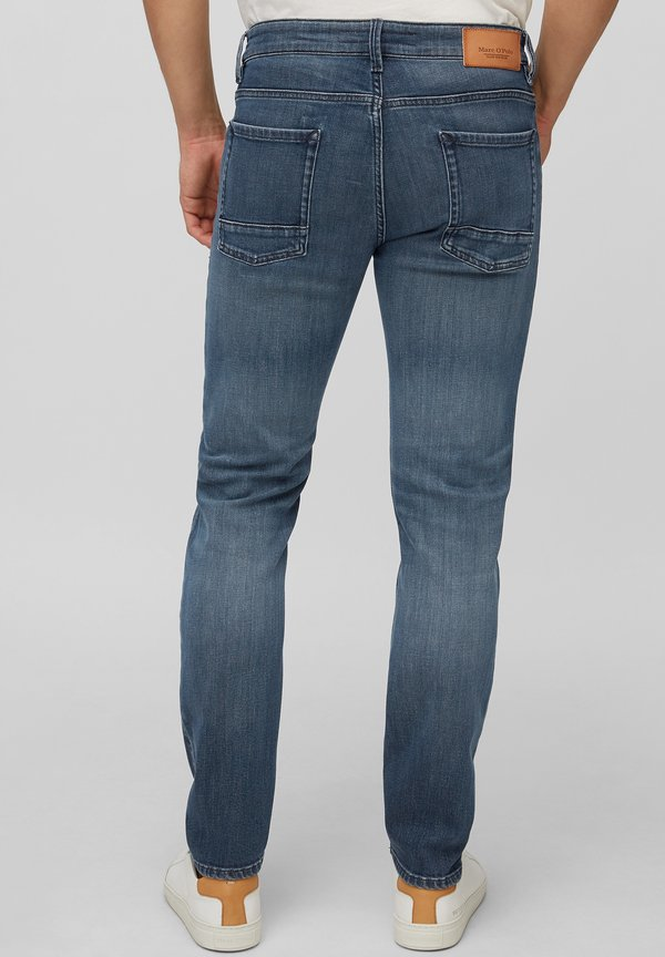 Marc O'Polo Jeansy Slim Fit - blue/niebieski Odzież Męska MATK