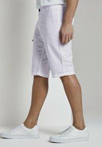 TOM TAILOR - Shorts - white - 3