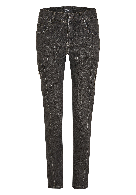 Damen CARGO SHINE' MIT GLITZERSTEINEN - Jeans Skinny Fit
