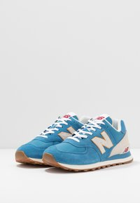 New Balance - 574 - Tenisky - blue - 2
