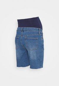 MAIAMAE - LONGER BOY  - Szorty jeansowe - blue - 1