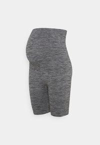 Anna Field MAMA - Seamless maternity cycling shorts - Szorty - grey - 0