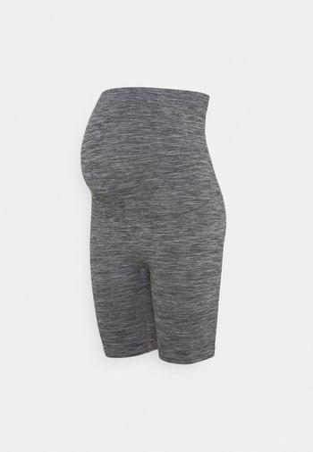 Seamless maternity cycling shorts - Shorts - grey
