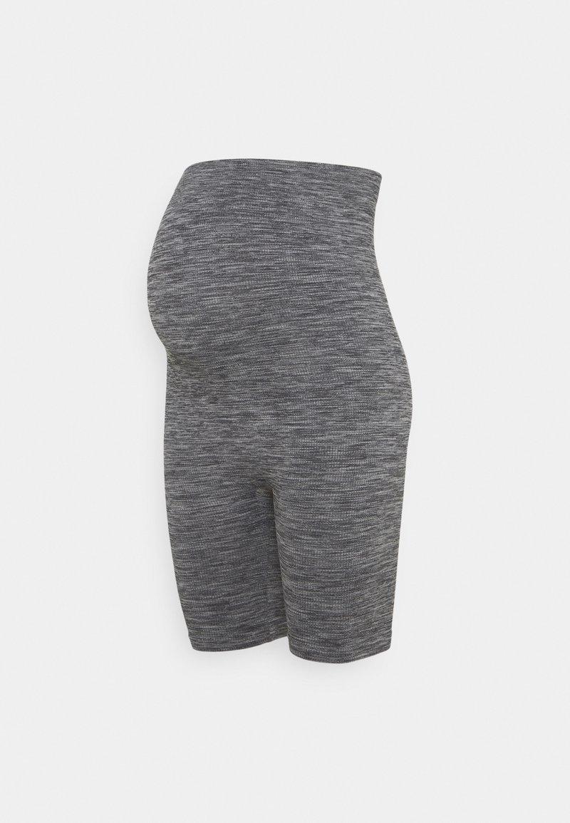 Anna Field MAMA - Seamless maternity cycling shorts - Szorty - grey