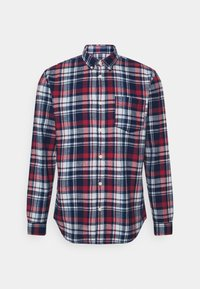 Selected Homme - SLHREGZANE SHIRT CHECK  - Shirt - brick red - 7