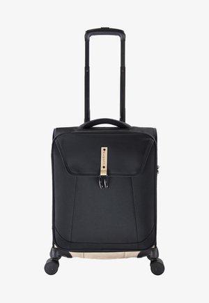 MODO - Wheeled suitcase - schwarz/cognac