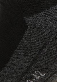 camano - SNEAKER 4 PACK - Trainer socks - black - 1
