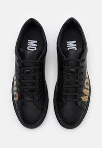 MOSCHINO - SERENA - Sneaker low - nero/oro - 3