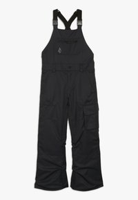 Volcom - BARKLEY OVERALL - Snow pants - black - 0