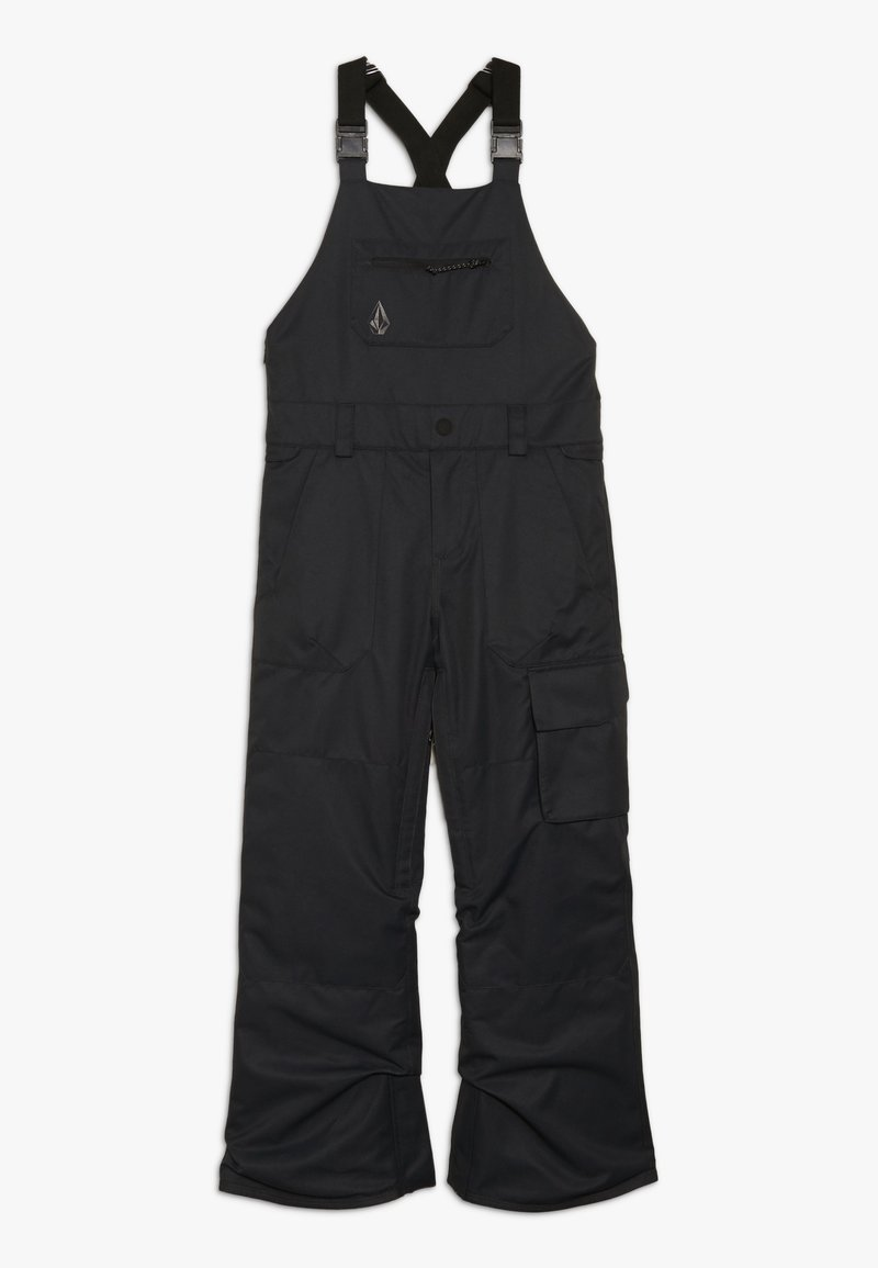Volcom - BARKLEY OVERALL - Snow pants - black