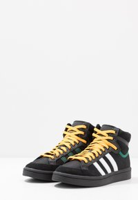 adidas Originals - AMERICANA - Korkeavartiset tennarit - core black/collegiate green/active gold - 2