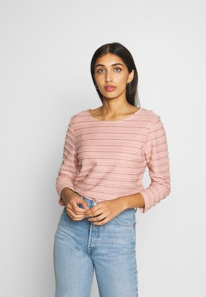 ONLMILLIE LIFE BOAT GLITTER - Long sleeved top - misty rose