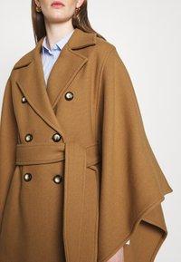 Pinko - PUERTA MANTELLA PANNO - Classic coat - camel - 5