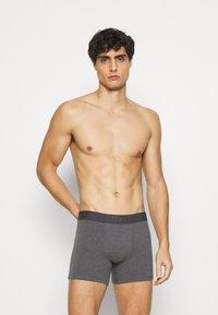 Levi's® - MEN PREMIUM BOXER BRIEF 3PACK - Panties - black/grey combo - 4