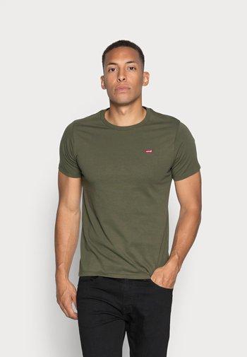 ORIGINAL TEE - T-shirt - bas - cotton patch olive night