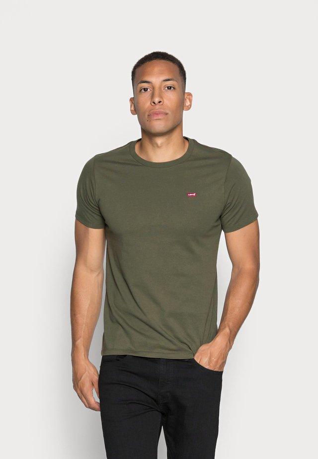 ORIGINAL TEE - T-shirts basic - cotton patch olive night