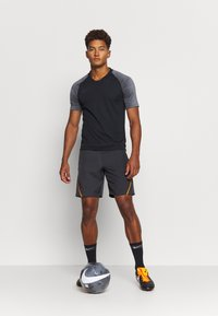Nike Performance - DRY  - Sports shorts - dark smoke grey/total orange - 1