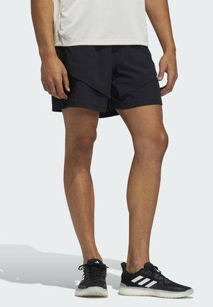 STU TECH YOGA DESIGNED4TRAINING SHORTS - kurze Sporthose - black