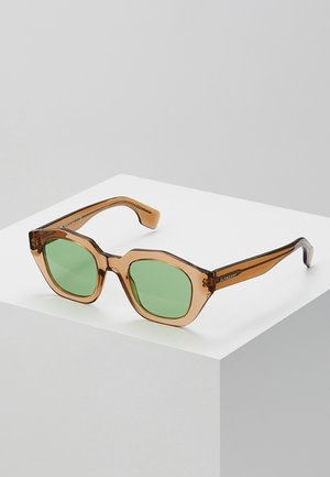 Sonnenbrille - transparent brown